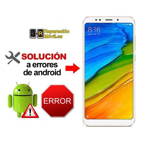 Reparar Sistema Xiaomi REDMI NOTE 5 PLUS
