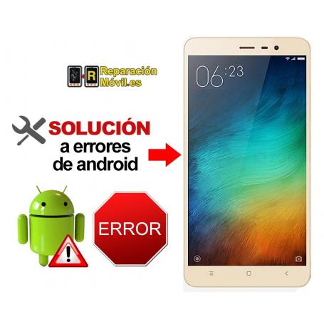 Reparar Sistema Xiaomi REDMI NOTE 4