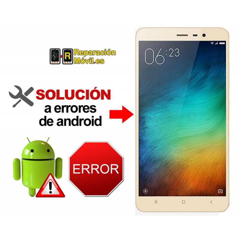 Reparar Sistema Xiaomi REDMI NOTE 4X