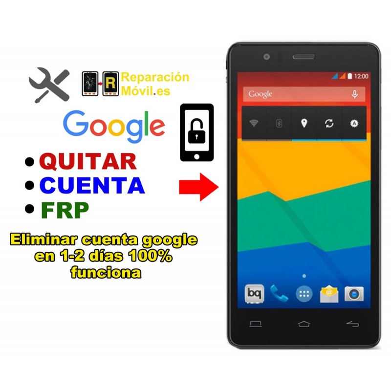 Eliminar Cuenta Google BQ E5 4G