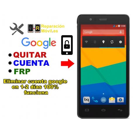 Eliminar Cuenta Google BQ E5 HD
