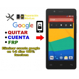Eliminar Cuenta Google BQ E4.5