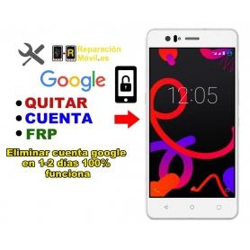 Eliminar Cuenta Google BQ M5