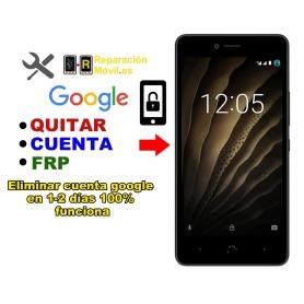 Eliminar Cuenta Google BQ U