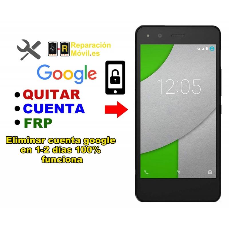 Eliminar Cuenta Google BQ A 4.5