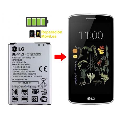 Cambiar Batería LG K5