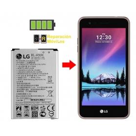 Cambiar Batería LG K4