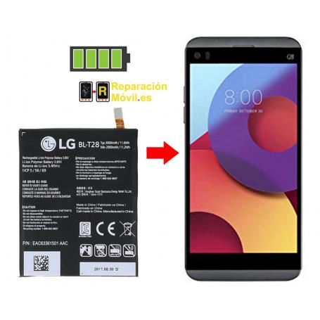 Cambiar Batería LG Q8