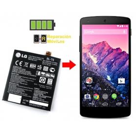 Cambiar Batería LG NEXUS 5