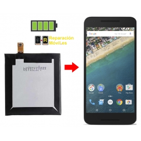 Cambiar Batería LG NEXUS 5X