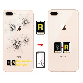 Cambiar Cristal Tapa iPhone 8 Plus