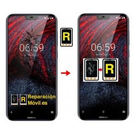 Cambiar Pantalla Nokia 6.1 plus nokia x6