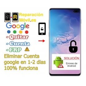 Eliminar Cuenta Samsung S10
