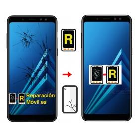 Cambiar Cristal pantalla a8 plus 2018
