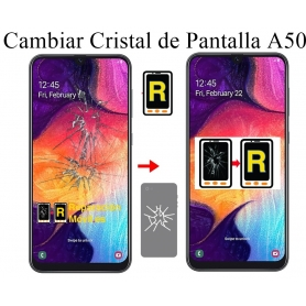 Cambiar Cristal Samsung Galaxy A50