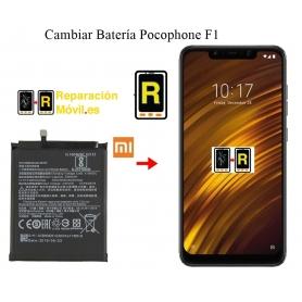 cambiar bateria pocophone F1