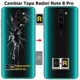 Cambiar Tapa Redmi Note 8 Pro
