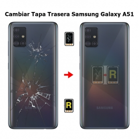 Cambiar Tapa Trasera Samsung Galaxy A51 SM-A515F