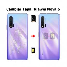 Cambiar Tapa Trasera Huawei Nova 6 WLZ-AN00