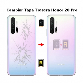 Cambiar Tapa Trasera Honor 20 Pro
