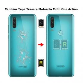 Cambiar Tapa Trasera Motorola One Action