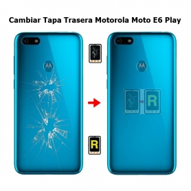 Cambiar Tapa Trasera Motorola Moto E6 Play