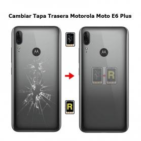 Cambiar Tapa Trasera Motorola Moto E6 Plus