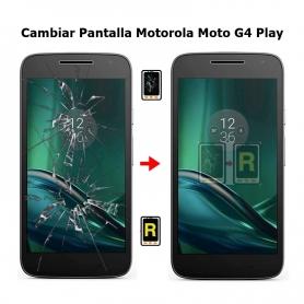 Cambiar Pantalla Motorola Moto G4 Play