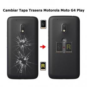 Cambiar Tapa Trasera Motorola Moto G4 Play