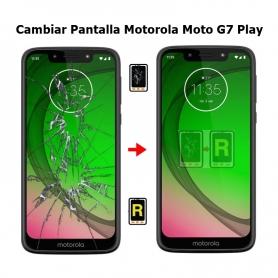 Cambiar Pantalla Motorola Moto G7 Play