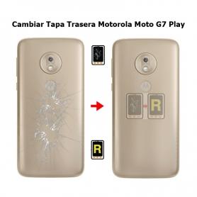 Cambiar Tapa Trasera Motorola Moto G7 Play