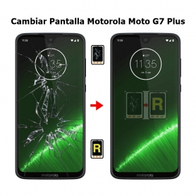 Cambiar Pantalla Morotola Moto G7 Plus
