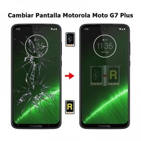 Cambiar Pantalla Motorola Moto G7 Plus
