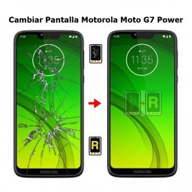 Cambiar Pantalla Morotola Moto G7 Power