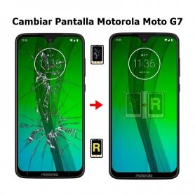 Cambiar Pantalla Motorola Moto G7 XT1962