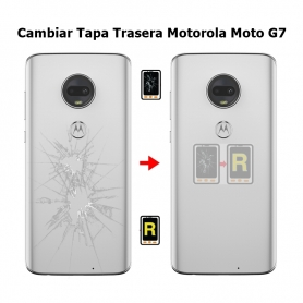 Cambiar Tapa Trasera Motorola Moto G7 xt1962
