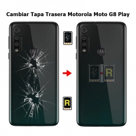 Cambiar Tapa Trasera Motorola Moto G8 Play XT2015
