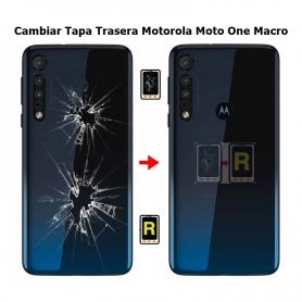 Cambiar Tapa Trasera Motorola One Macro