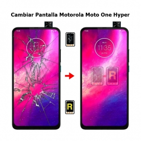 Cambiar Pantalla Motorola Moto One Hyper