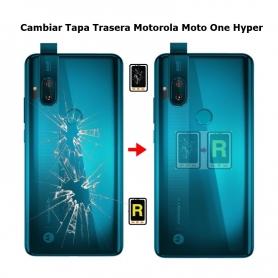 Cambiar Tapa Trasera Motorola Moto One Hyper