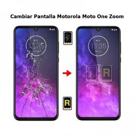 Cambiar Pantalla Motorola One Zoom