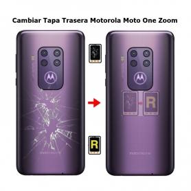 Cambiar Tapa Trasera Motorola One Zoom