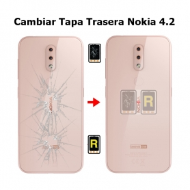 Cambiar Tapa Trasera Nokia 4.2