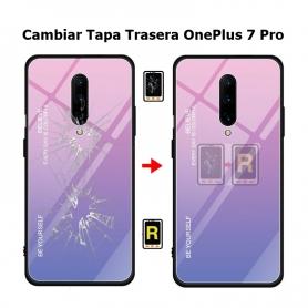 Cambiar Tapa Trasera Oneplus 7 Pro