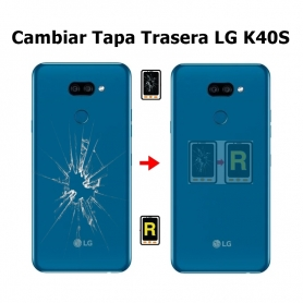 Cambiar Tapa Trasera LG K40S LMX430EMW