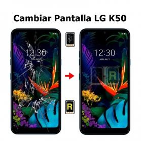 Cambiar Pantalla LG K50 LMX520EMW