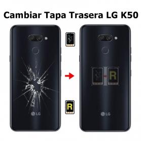 Cambiar Tapa Trasera LG K50 LMX520EMW