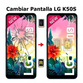 Cambiar Pantalla LG K50S LMX540EMW