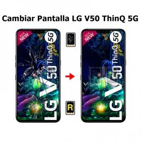 Cambiar Pantalla LG V50 LM-V500XM