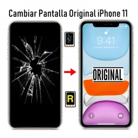 Cambiar Pantalla iPhone 11 Original